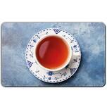 REMEMBER Frühstücksbrettchen 'Für Teetrinker' bunt