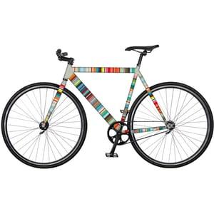 REMEMBER RadKleid 'Micro-Stripes' bunt