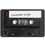 REMEMBER Frühstücksbrettchen 'Remember Songs' bunt
