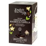 English Tea Shop Schokolade Rooibos & Vanille Bio 20 Pyramiden Beutel einzeln kuvertiert