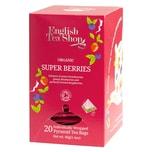 English Tea Shop Super Beeren Bio 20 Pyramiden Beutel einzeln kuvertiert