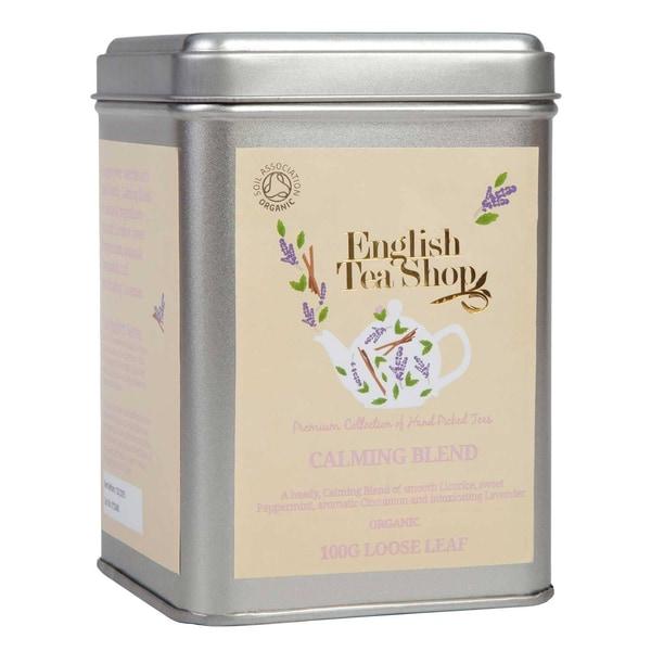 English Tea Shop Calming Blend Bio Loser Tee 100g Dose