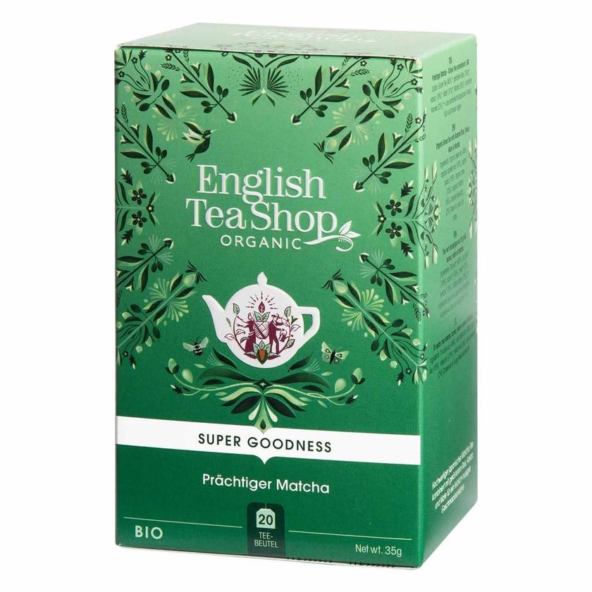 English Tea Shop Prächtiger Matcha Bio 20 Teebeutel