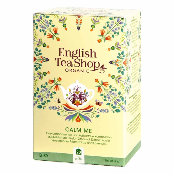 English Tea Shop Calm Me Bio Wellness Tee 20 Teebeutel