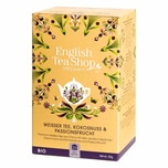 English Tea Shop Weißer Tee Kokosnuss & Passionsfrucht Bio 20 Teebeutel