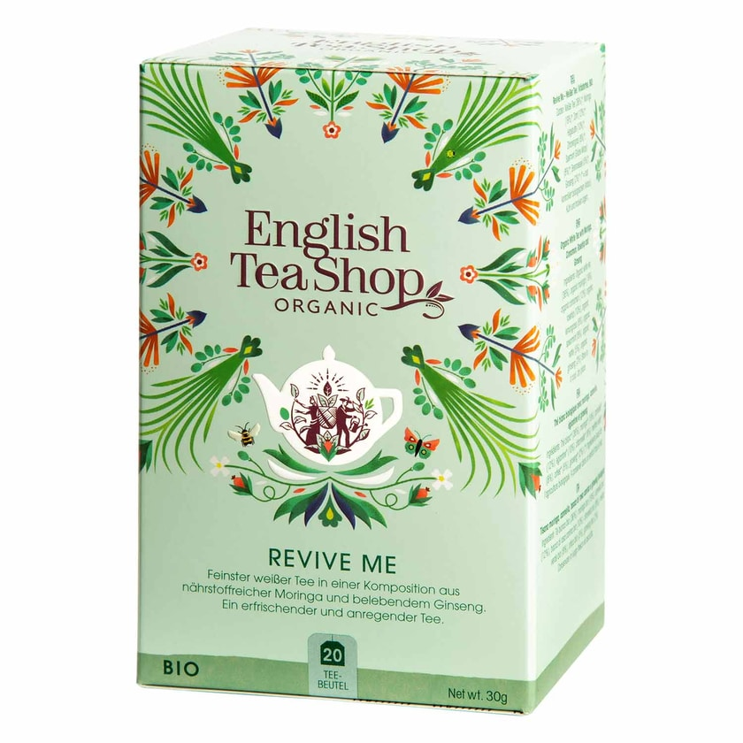 English Tea Shop Revive Me Bio Wellness Tee 20 Teebeutel
