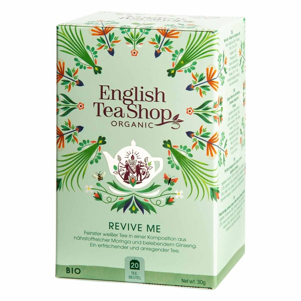 English Tea Shop Revive Me Bio Wellness Tee 20 Teebeutel