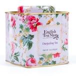 English Tea Shop Darjeeling Tee Bio Loser Tee 85g Dose Shabby Chic Floral Tin