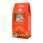 English Tea Shop Schwarzer Tee Chai Bio 15 Pyramiden Beutel in Papierbox