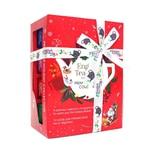 "English Tea Shop - Teegeschenk mit Schleife ""Holiday Collection, Rot"", BIO, 12 Pyramiden-Beutel (Organic Box)"