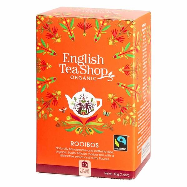 English Tea Shop Rooibos Bio Fairtrade 20 Teebeutel