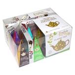 English Tea Shop Klassische Tee Kollektion Bio Teegeschenk mit Schleife 12 Pyramiden Beutel