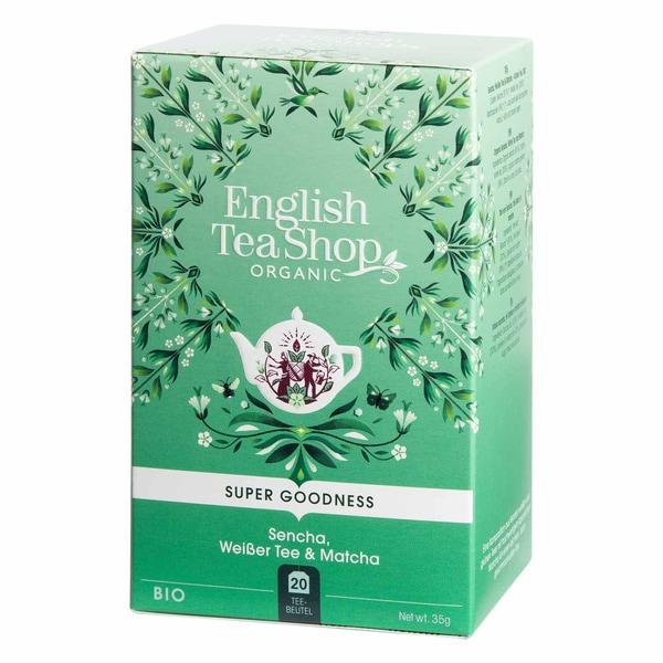 English Tea Shop Sencha Weißer Tee & Matcha Bio 20 Teebeutel