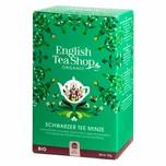 English Tea Shop Schwarzer Tee Minze Bio 20 Teebeutel