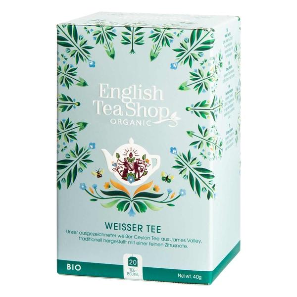 English Tea Shop - Weißer Tee, BIO, 20 Teebeutel