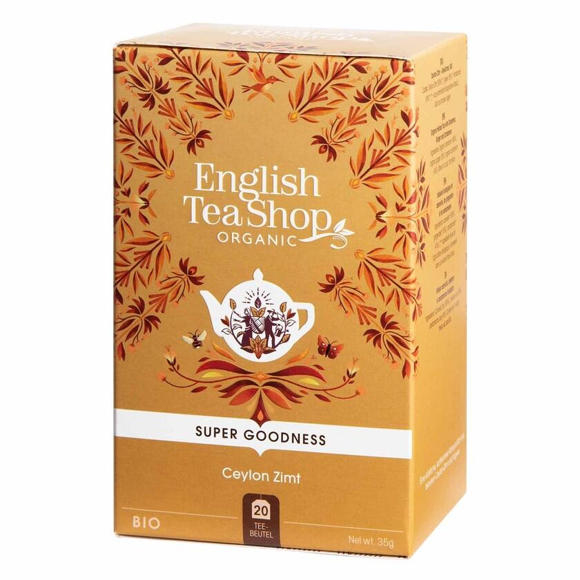 English Tea Shop Ceylon Zimt Bio 20 Teebeutel
