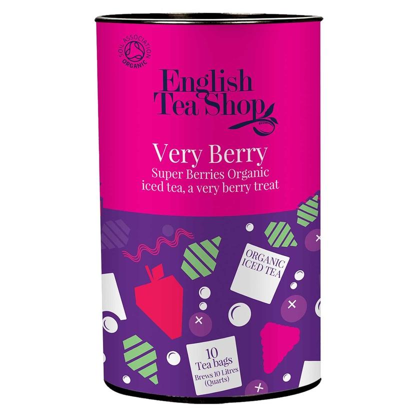 English Tea Shop Eistee Very Berry Beerenmischung Bio Dose 10 Teebeutel für je 1 Liter