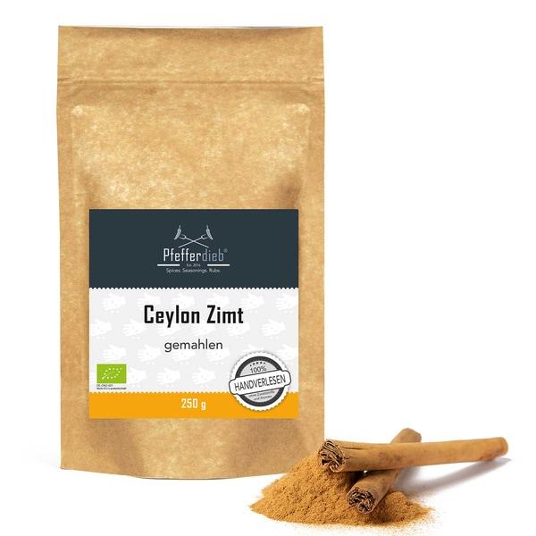Ceylon Zimt, gemahlen, BIO, 250g