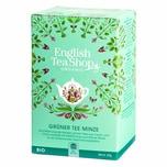 English Tea Shop - Grüner Tee Minze, BIO, 20 Teebeutel