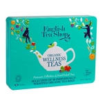English Tea Shop Wellness Selection,Tee Geschenkbox aus Metall mit 36 Bio Tees