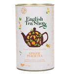 English Tea Shop Ingwer Pfirsich schw. Tee Bio 60 Teebeutel in Dose