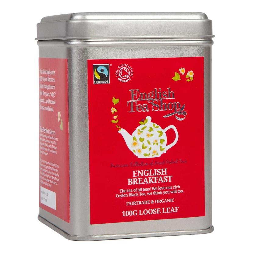 English Tea Shop English Breakfast Bio Fairtrade Loser Tee 100g Dose