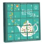 English Tea Shop - Tee Adventskalender Candy Cane, 25 einzelne Boxen mit würzigen BIO-Tees in hochwertigen Pyramiden-Teebeuteln