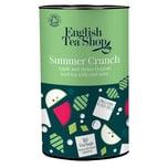 English Tea Shop Eistee Summer Crunch Apfel & Melone Bio Dose 10 Teebeutel für je 1 Liter