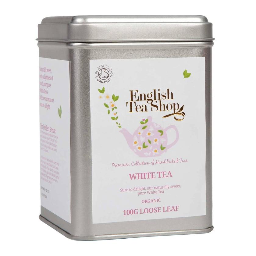 English Tea Shop Weißer Tee Bio Loser Tee 100g Dose