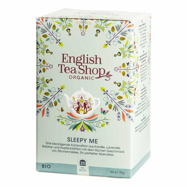 English Tea Shop Sleepy Me Bio Wellness Tee 20 Teebeutel
