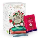 English Tea Shop - Tee Adventskalender weiß, 24 einzeln verpackte Teebeutel mit BIO-Tees