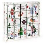 English Tea Shop - Puzzle Tee Adventskalender White Ornaments, BIO, 25 einzelne Boxen
