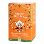 English Tea Shop Ceylon Schwarzer Tee Bio Fairtrade 20 Teebeutel