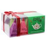 English Tea Shop Grüner Tee Kollektion Bio Teegeschenk mit Schleife 12 Pyramiden Beutel