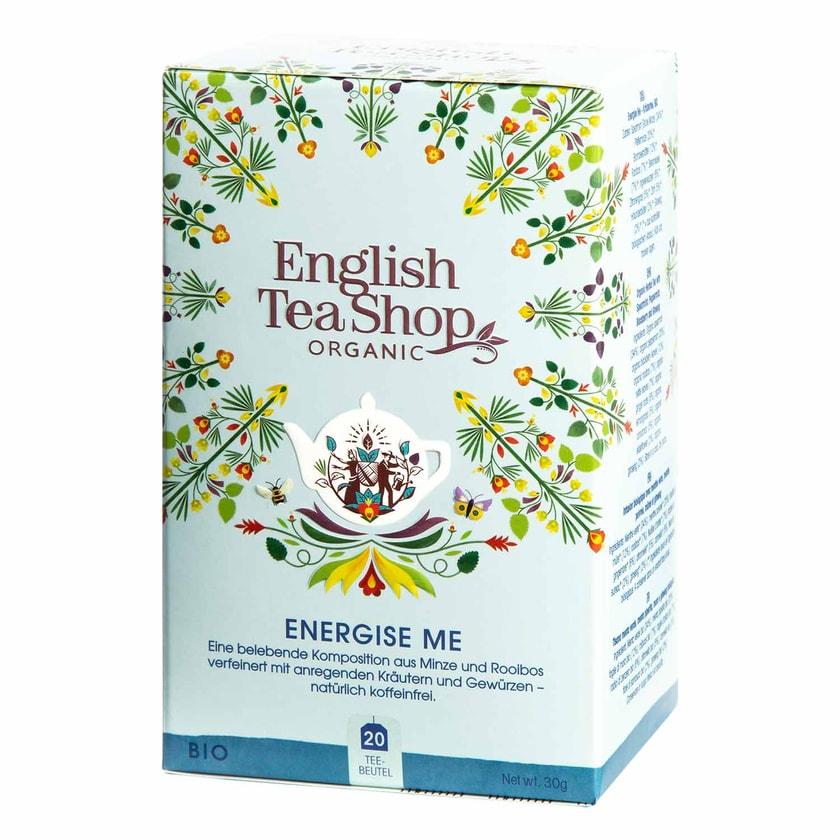 English Tea Shop Energise Me Bio Wellness Tee 20 Teebeutel