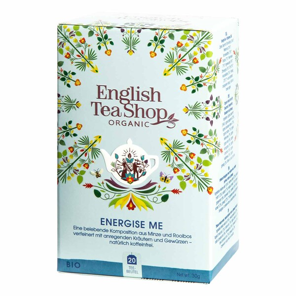 English Tea Shop Energise Me Bio Wellness Tee 20 Teebeutel