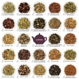 English Tea Shop - Premium Tee Adventskalender mit Schleife Red Christmas, 25 BIO Tees in Teepyramiden