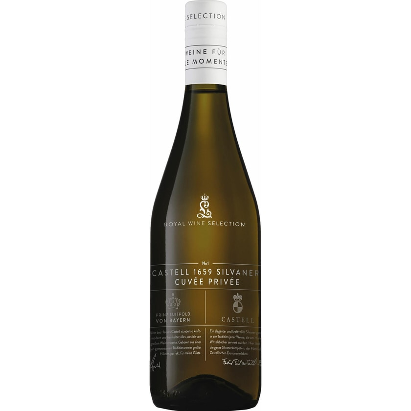 Castell 1659 Silvaner trocken Cuvée Privée Franken 2019 Wein 1 x 0.75 l
