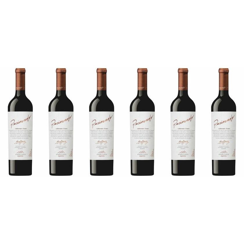 Andeluna Cellars Cabernet Franc Andeluna Pasionado Mendoza 2013 Wein 6 x 0.75 l