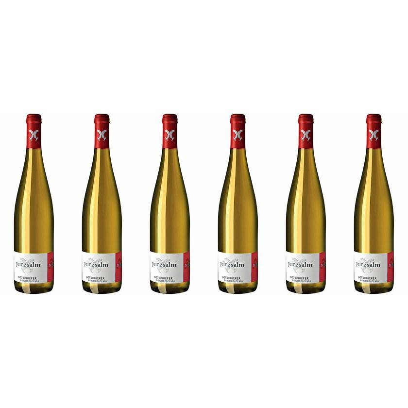Weingut Prinz Salm Vom roten Schiefer Riesling Nahe 2019 Wein 6 x 0.75 l