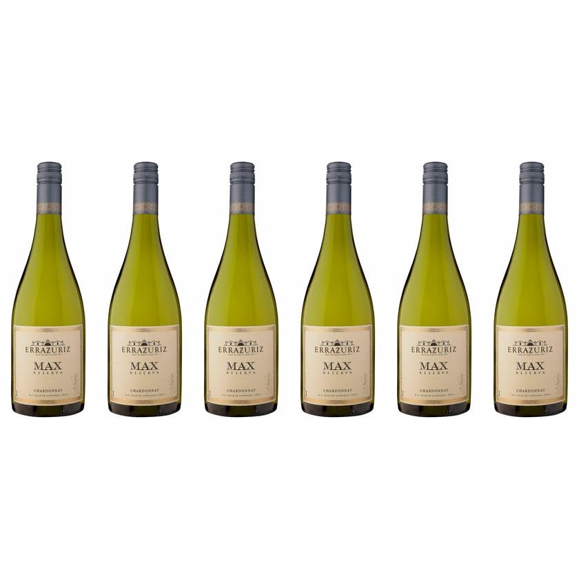 Vina Errazuriz Max Reserva Chardonnay Aconcagua Valley 2018 Wein 6 x 0.75 l