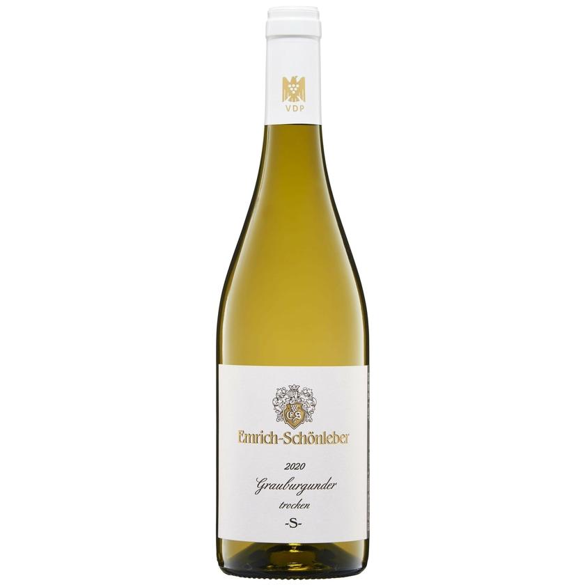 Weingut Emrich-Schönleber Grauburgunder trocken S 2019 Wein 1 x 0.75 l