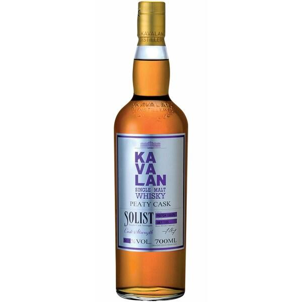 Kavalan Solist Ltd. Peaty Cask 50-60% Vol. Whisky aus Taiwan 0,7l