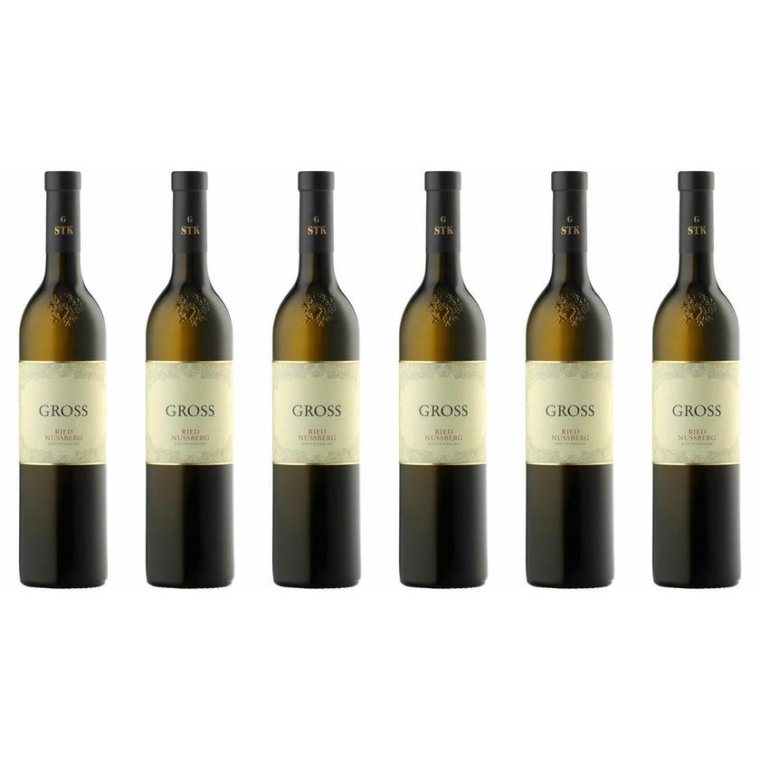 Weingut Gross Ried Nussberg Sauvignon Blanc Steiermark 2018 Wein 6 x 0.75 l
