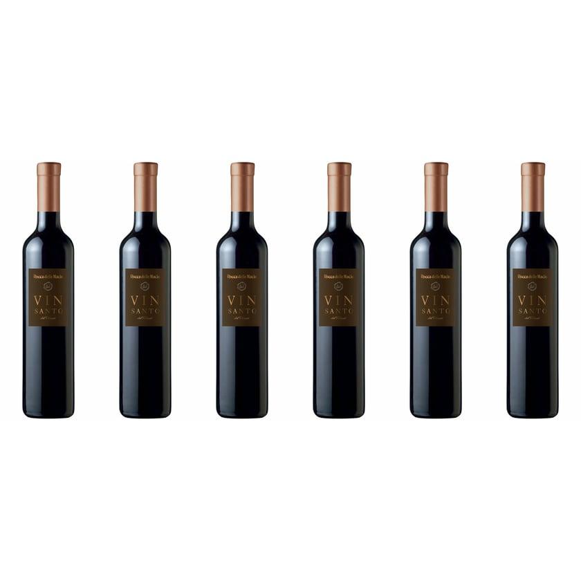 Rocca delle Macìe Vin Santo del Chianti Toscana Toskana 2012 Likörwein 6 x 0.5 l