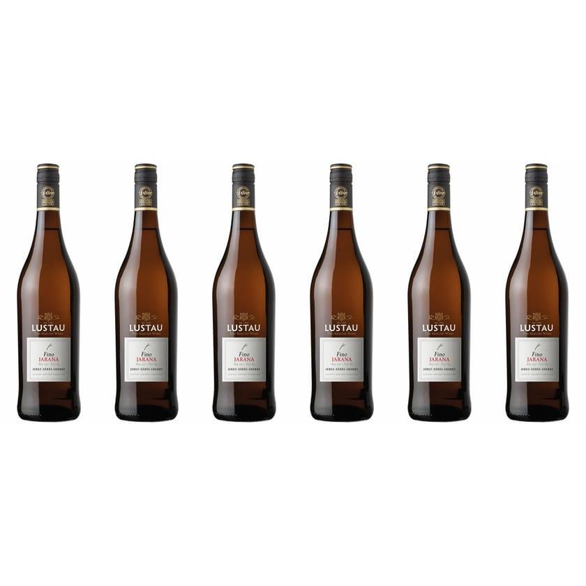 Emilio Lustau Fino Jarana Sherry 15% vol Jerez Sherry 6 x 0.75 l