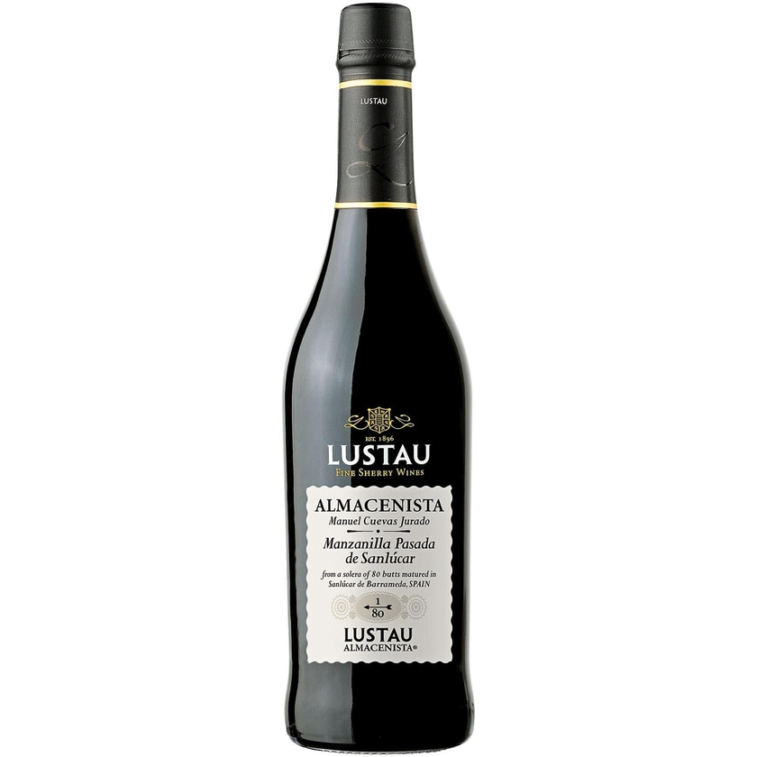 Emilio Lustau Manzanilla Sherry Pasada de Sanlucar 1/80 17% vol Jerez Sherry 1 x 0.5 l