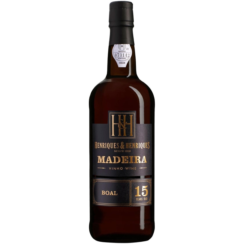 Henriques & Henriques Bual Aged 15 years 20% vol Madeira Madeira 1 x 0.75 l