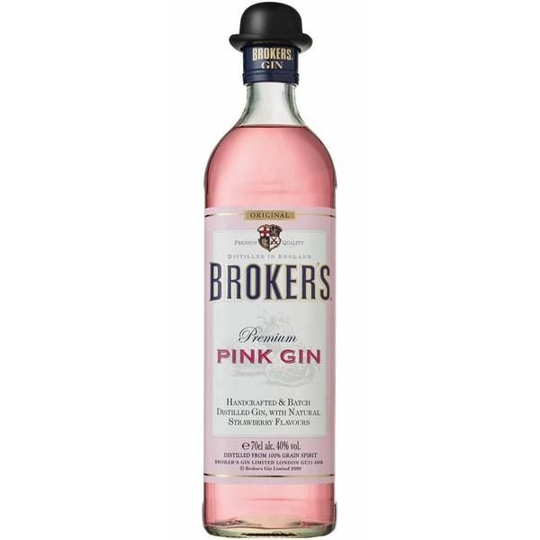 Broker's Pink Gin 40% Vol. Gin 0,7l