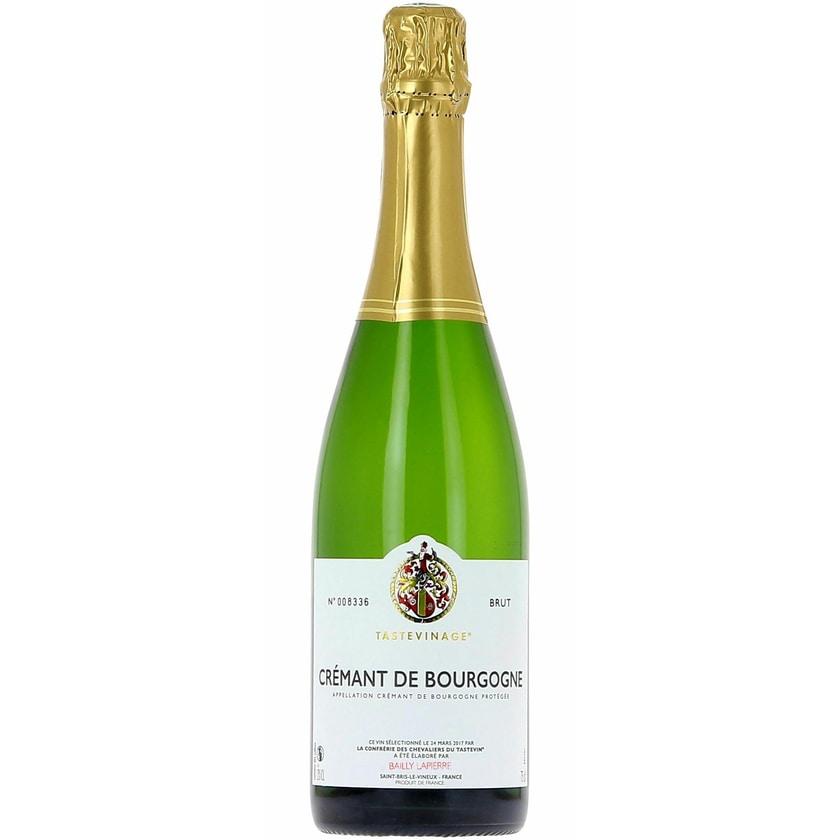 Caves Bailly-Lapierre Crémant de Bourgogne 'Tasteviné' Brut Burgund Crémant 1 x 0.75 l